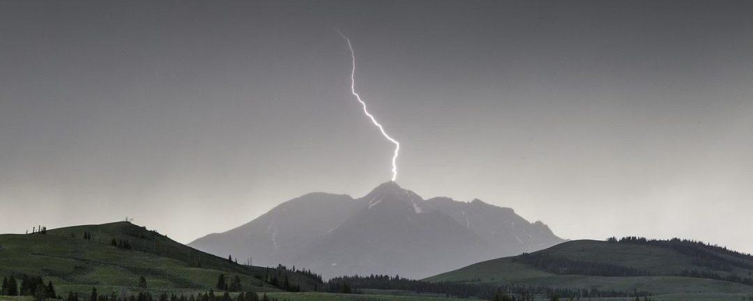 Verhalten bei Gewitter am Berg