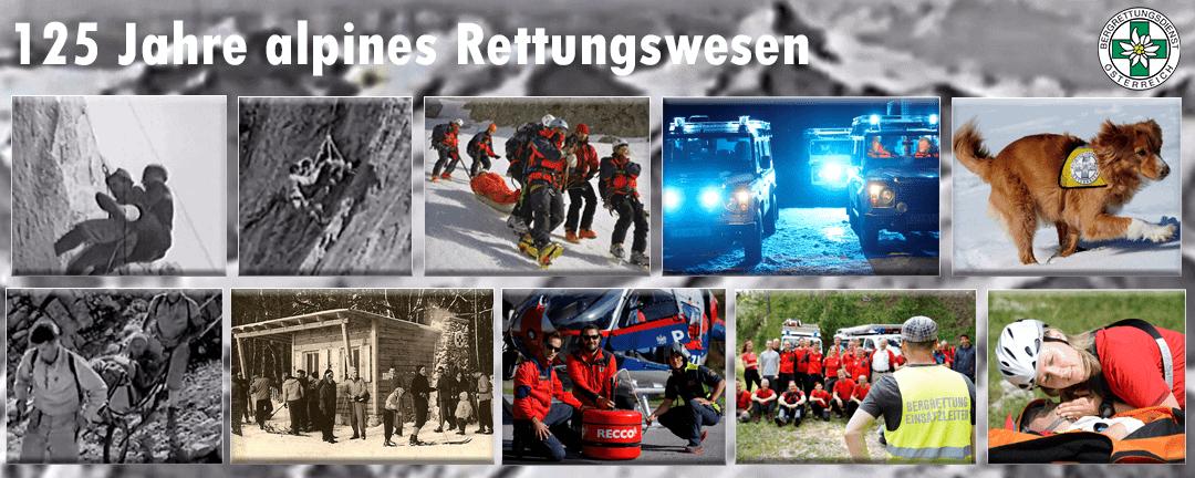 125 Jahre organisiertes alpines Rettungswesen